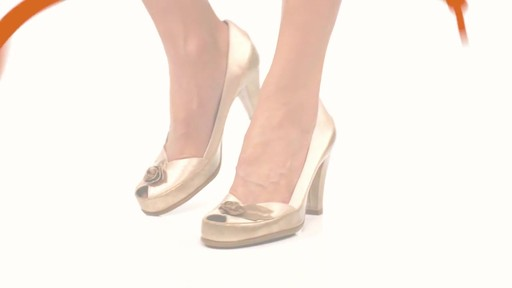 Aerosoles Bengal Rose Peep-Toe Pumps Product Video - image 8 from the video