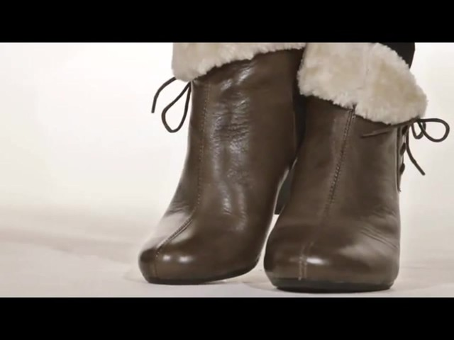 Spring Step Elegant Ankle Boots - image 2 from the video