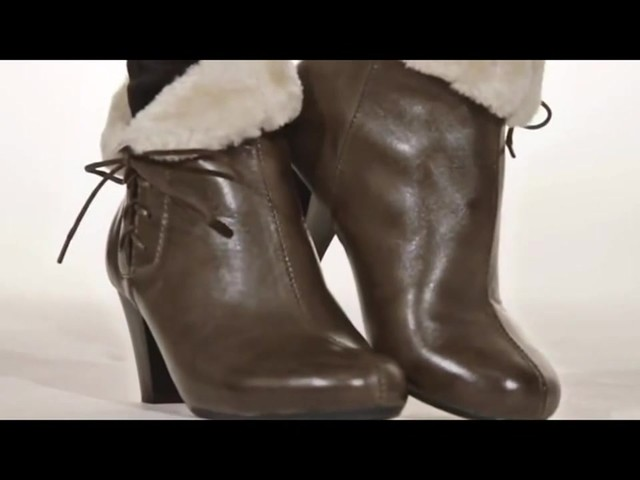 Spring Step Elegant Ankle Boots - image 3 from the video