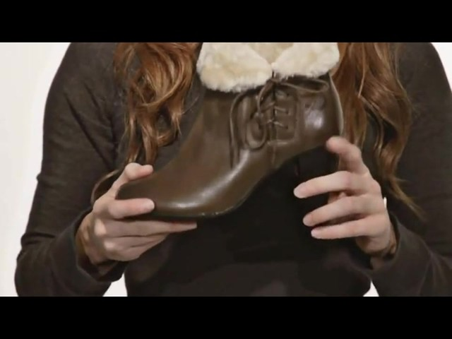 Spring Step Elegant Ankle Boots - image 6 from the video