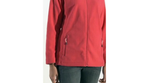 Regatta Cathie Fleece Jacket - image 5 from the video