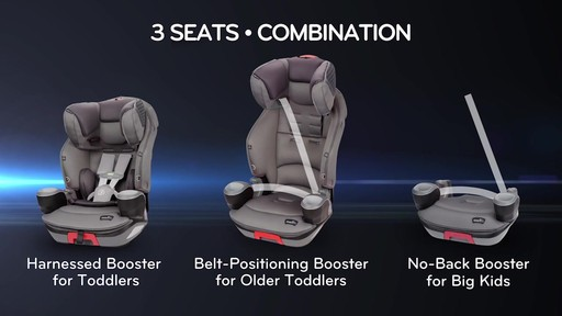 Evenflo® SafeMax™ 3-in-1 Booster Car Seat with SensorSafe Technology - image 3 from the video