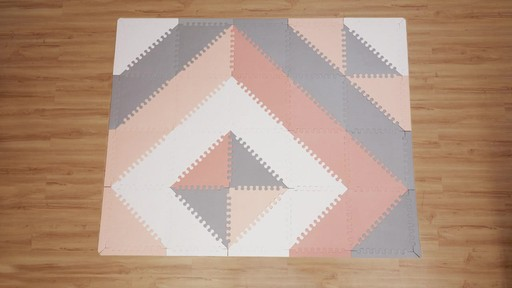 SKIP*HOP® Playspot Chevron Geo Foam Tiles   Image 3 From The Video