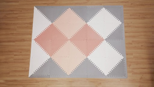 SKIP*HOP® Playspot Chevron Geo Foam Tiles   Image 5 From The Video