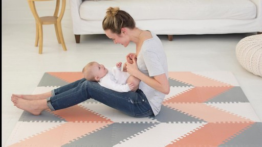 skip*hop® playspot chevron geo foam tiles » buybuy baby video