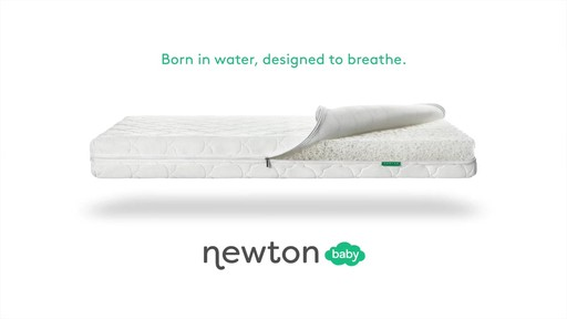 Newton Baby® Wovenaire® Crib Mattress - image 10 from the video