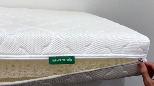 Newton Baby® Wovenaire® Crib Mattress - image 9 from the video