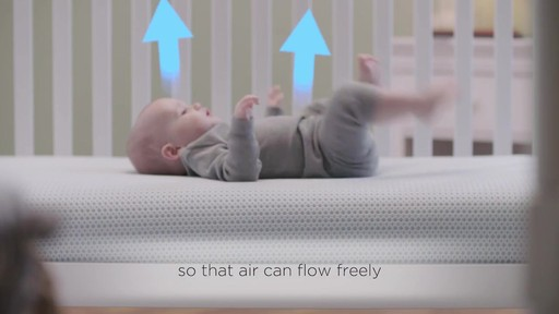 breeze breathable waterproof crib mattress cover image 3 from the video