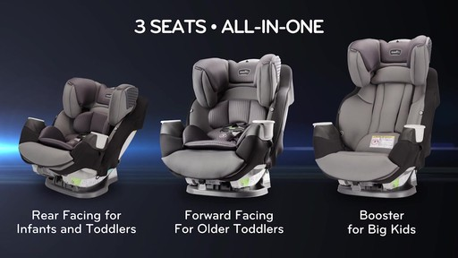Evenflo® SafeMax All-In-One Car Seat with SensorSafe™ Technology - image 3 from the video