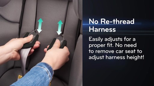 Evenflo® SafeMax All-In-One Car Seat with SensorSafe™ Technology - image 6 from the video