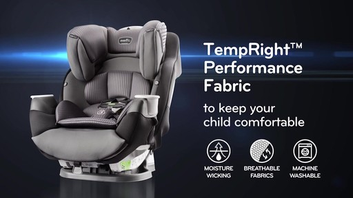 Evenflo® SafeMax All-In-One Car Seat with SensorSafe™ Technology - image 7 from the video