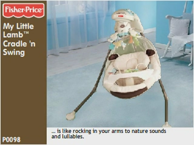 my little lamb cradle and swing manual