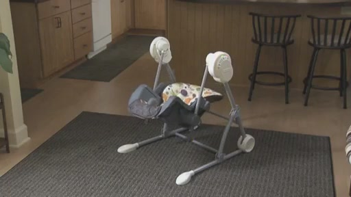 Fisher-Price Swing To High Chair - image 2 from the video