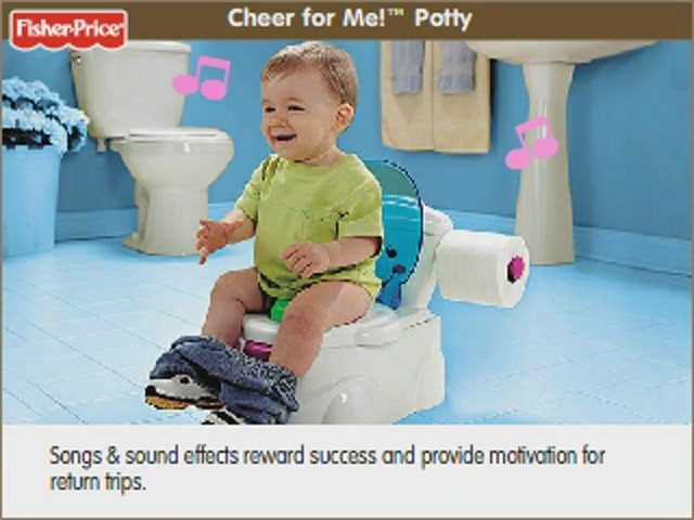 Cheer For Me Potty By Fisher Price 187 Potty Training