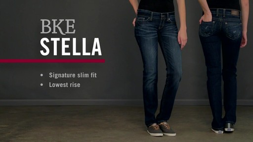 Buckle Jeans: BKE Stella - image 1 from the video