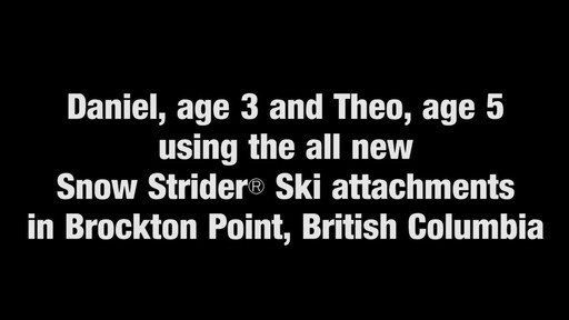 STRIDER Snow Strider Ski Accessory Kit - image 9 from the video