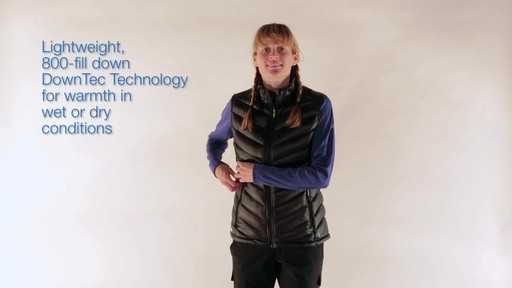 EMS Women's Meridian Down Vest - image 1 from the video