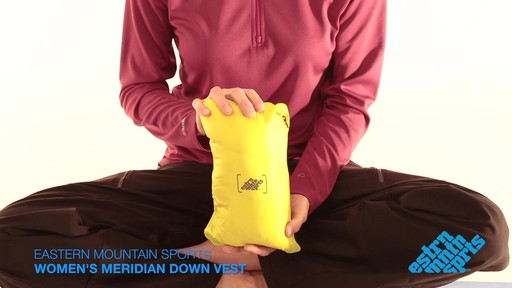 EMS Women's Meridian Down Vest - image 10 from the video