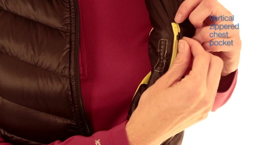 EMS Women's Meridian Down Vest - image 2 from the video