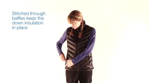 EMS Women's Meridian Down Vest - image 3 from the video