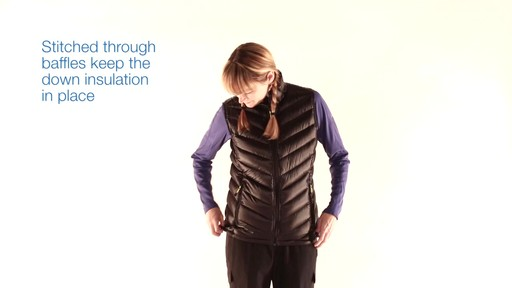 EMS Women's Meridian Down Vest - image 4 from the video