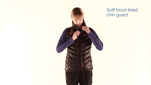 EMS Women's Meridian Down Vest - image 5 from the video