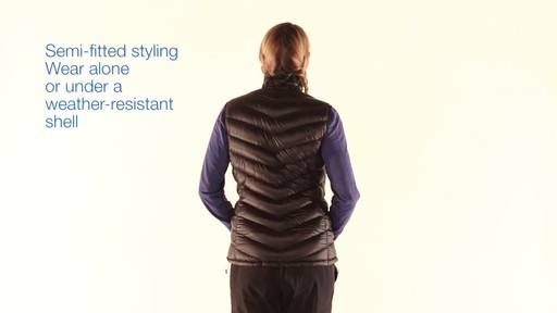 EMS Women's Meridian Down Vest - image 6 from the video
