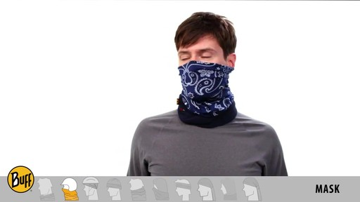 BUFF: How to wear a Polar Buff - image 4 from the video