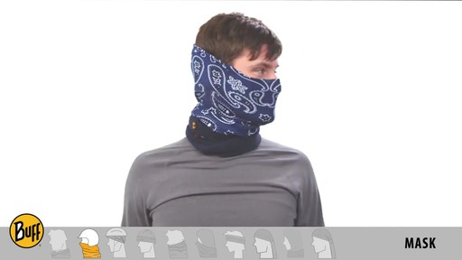 BUFF: How to wear a Polar Buff - image 5 from the video