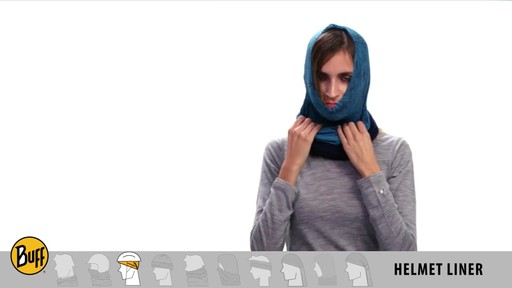 BUFF: How to wear a Polar Buff - image 6 from the video
