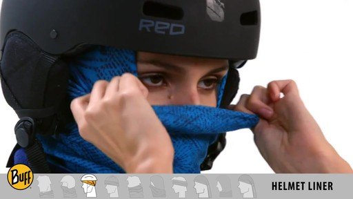 BUFF: How to wear a Polar Buff - image 7 from the video