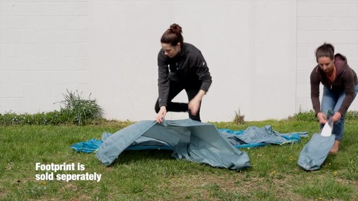 How to set up the EMS Sugar Shack 2 Tent: Eastern Mountain Sports - image 1 from the video