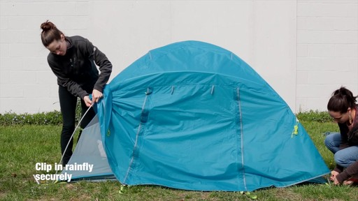 How to set up the EMS Sugar Shack 2 Tent: Eastern Mountain Sports - image 8 from the video