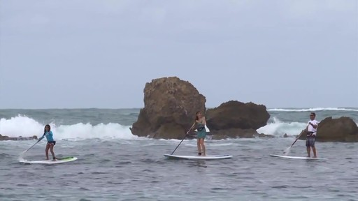 """BIC DURA-TEC 10'4"""" Stand Up Paddleboard - image 10 from the video"""