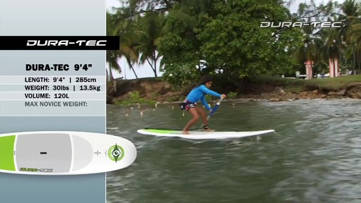 """BIC DURA-TEC 10'4"""" Stand Up Paddleboard - image 7 from the video"""