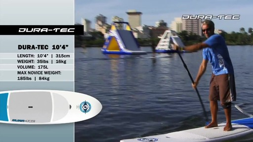 """BIC DURA-TEC 10'4"""" Stand Up Paddleboard - image 8 from the video"""