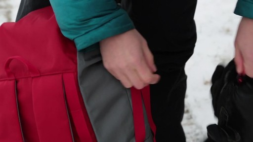 EMS Post Hole Snowshoe Bag - image 1 from the video
