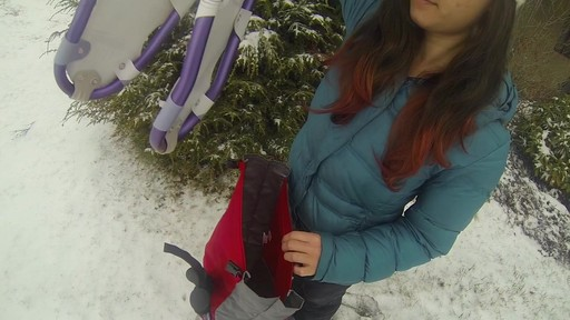 EMS Post Hole Snowshoe Bag - image 4 from the video