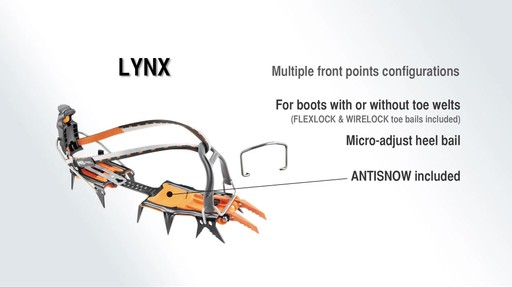 PETZL Lynx LL Crampons - image 9 from the video