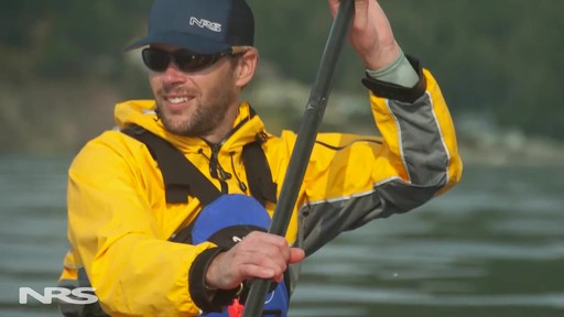 NRS Sea Tour Pullover Paddle Jacket - image 7 from the video