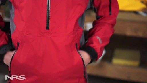 NRS Sea Tour Pullover Paddle Jacket - image 8 from the video