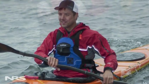 NRS Sea Tour Pullover Paddle Jacket - image 9 from the video