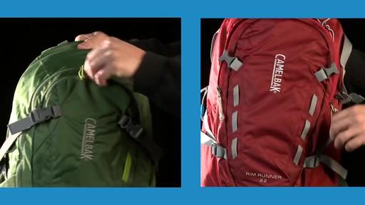 CAMELBAK Cloud Walker & Rim Runner Hydration Packs - image 3 from the video