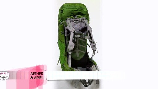 Osprey Aether and Ariel Series - image 1 from the video