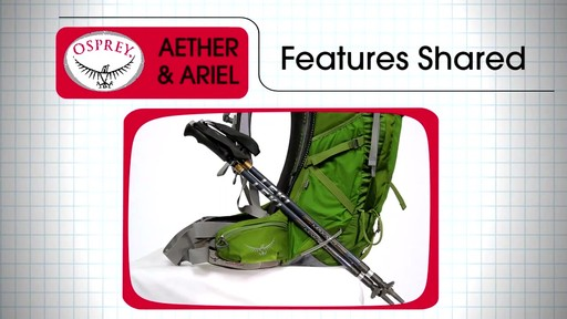 Osprey Aether and Ariel Series - image 7 from the video