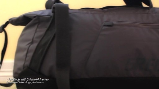 GREGORY Stash Duffel - image 1 from the video