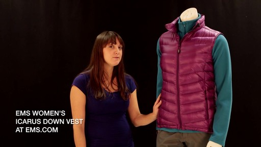 EMS Women's Icarus Down Vest - image 10 from the video