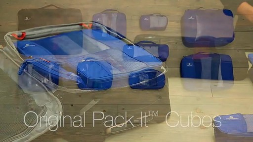 EAGLE CREEK Original Pack-It Cubes - image 10 from the video