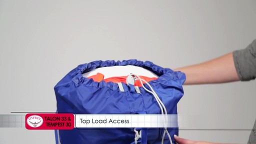 OSPREY Talon 33 and Tempest 30 Pack - image 7 from the video