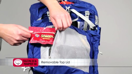 OSPREY Talon 33 and Tempest 30 Pack - image 9 from the video